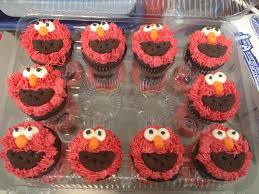 elmo cupcakes gourmet cupcakes the gourmet cookie shoppe s