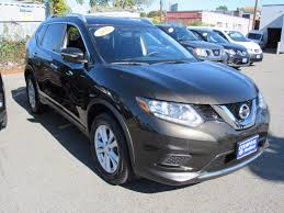 Nissan Rogue 2015 - 2015 nissan rogue sv in midnight jade for sale in boston ma