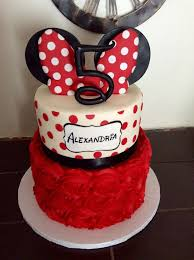 minnie mouse inspired rosette cake cute and simple minnie mouse inspired cake