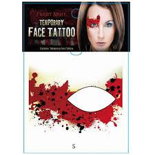 design eye temporary sticker eye shadow