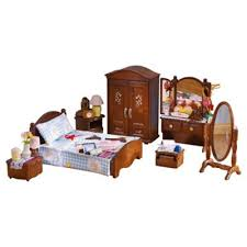 Buy Sylvanian Families Luxury Master Bedroom Furniture From Our - Tesco bedroom furniture