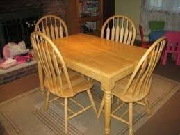 Light Oak Kitchen Table And Chairs - light oak kitchen table foter