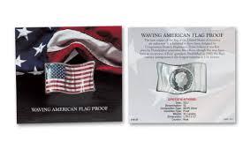 Canadian Flag 1960 2017 Niue 1 Oz Silver Waving American Flag Proof Coin Govmint Com
