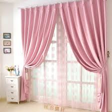 Baby Pink Curtains Pink Blackout Curtains Door New Furniture