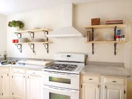 Kitchen Open Shelves Ideas Kitchen Best Open Kitchen Shelving Ideas For Small White Kitchen
