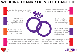 wedding gift etiquette wedding thank you etiquette effie s paper