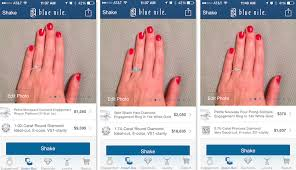 wedding ring app this new app feature lets you virtually try engagement rings on