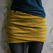 Draped Skirt Tutorial Small Things Folded Miniskirt Tutorial
