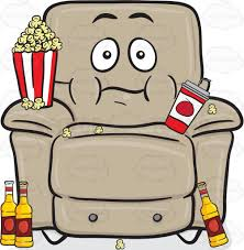 beer cartoon stuffed chair with popcorn cup and beer bottles emoji cartoon
