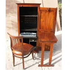 Wood Computer Desk With Hutch Foter by Computer Armoires U0026 Hutches Foter