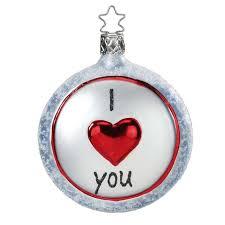you ornament inge glas