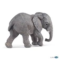 figurine young african elephant figurines wild animal kingdom