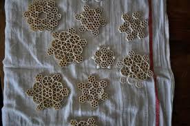 how to make macaroni snowflakes katy elliott