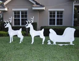 outdoor deer decorations fabulous outdoor deer decorations all
