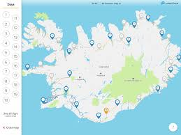 Iceland Map World Faqs About The Iceland Travel Companion Self Drive App