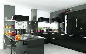 cuisine laqué noir meuble cuisine noir laque cuisine entretien meuble cuisine laque