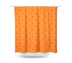 Orange Shower Curtains Swiss Cross Orange Shower Curtain Products Pinterest Products