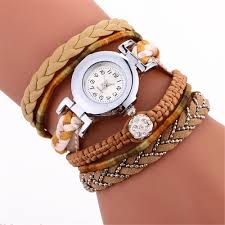 ladies watches bracelet style images 2017 new brand women watches bracelet retro high quality pu jpg