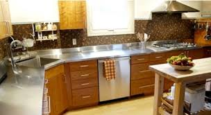 stainless steel countertop with sink stainless steel countertop with a corner sink by ridalco