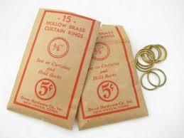 Antique Brass Curtain Rings Vintage Curtains Drapes U0026 Drapery Fabric U0026 Hardware