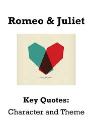 romeo and juliet key quotations booklet differentiated by