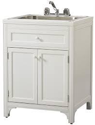 diy utility sink cabinet laundry sink cabinet zazoulounge com