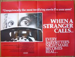 When A Stranger Calls by When A Stranger Calls Original Cinema Movie Poster From