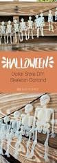 halloween decorations skeletons dollar store diy halloween skeleton garland pearmama