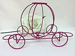 Sweet 16 Table Centerpieces Amazon Com Fuchsia Wire Coach Carriage Table Centerpiece Wedding