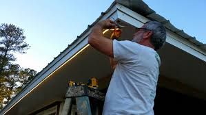 Outdoor Soffit Light Outdoor Soffit Lighting Lowes How To Install Downlights In