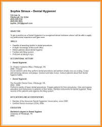 8 dental hygienist resume examples parts of resume