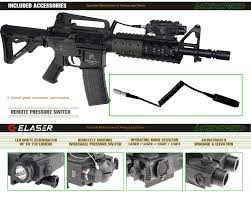 ak 47 laser light combo laserspeed ls cl4 g military tactical flashlight self defense and