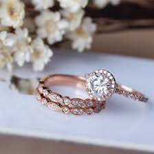 Rose Gold Wedding Ring Sets by Engagement Rings Collection Gift Ideas