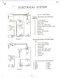 wiring diagram massey ferguson 135 wiring diagram alternator new