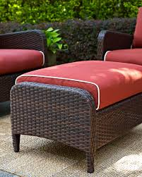 City Furniture Patio by Corona Set Of 2 Outdoor Chairs And Ottomans Sangria Value City