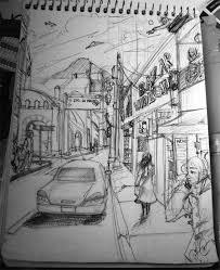 street sketch by nheblue on deviantart