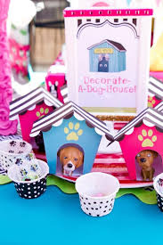 puppy party supplies kara s party ideas puppy party planning ideas supplies idea