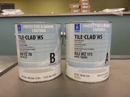 sherwin williams tile clad hs epoxy paint professional