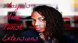 human hair using twists mini twist extension tutorial jan 2014 janet collection youtube