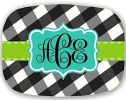 monogrammed platter personalized platter monogrammed platter serving platter