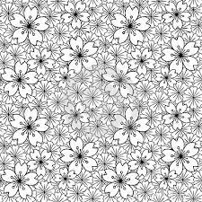 japanese pattern black and white background image of black white japanese sakura flower cross pattern