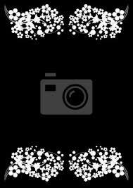 imagenes blancas en fondo negro flores blancas sobre fondo negro vinilos para portátiles vinilos