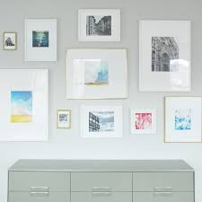 How To Design A Gallery Wall by How To Make Diy Photo Mats For Less Than 1 The Sweetest Digs