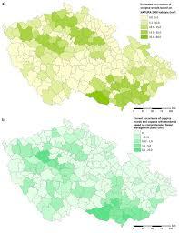 Russian Boreal Forest Disturbance Maps by Madera P Machala M Slach T Friedl M Cernušáková L Volarík D
