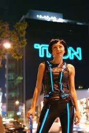 Tron Halloween Costume Tron Costume Glow Electroluminescent Wire