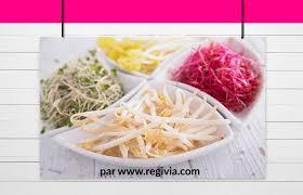 comment cuisiner les pousses de soja calories et composition du haricot mungo germé ou pousse de soja frais