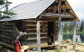 Wildfire Parks Canada by Banff Park Crew Restores Mount Revelstoke Heritage Cabin