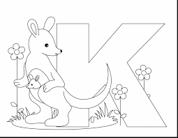 magnificent animal alphabet letters coloring pages with letter a