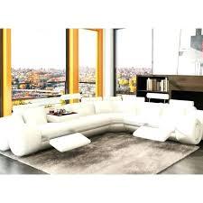 canape cuir modulable canape panoramique cuir center canapa sofa divan dangle design
