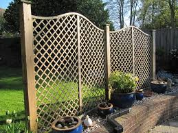decorative garden fence posts home outdoor decoration